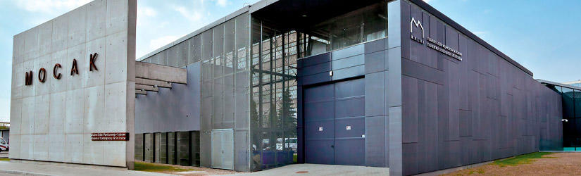 The Mocak Building in Krakow from the outside
